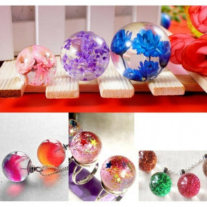 DIY Crystal Large Sphere Ball Silicone Mold Resin Casting Mould 70mm New