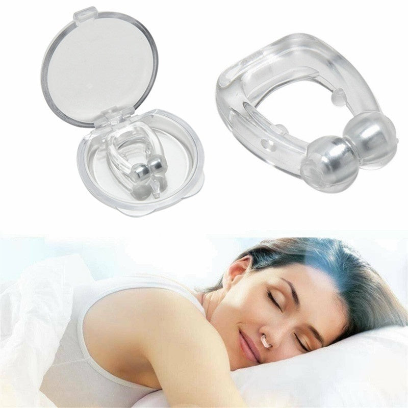 New Portable Anti Snoring Nose Clip Creative Practical Snore Stopper Multipurpose Household Stop Snoring Device Healty Care Supplies for Man and Women