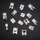11/32/48pcs Sewing Machine Supplies Presser Foot Feet for Sewing Machines Feet Kit Set With Box For Brother Singer Janome