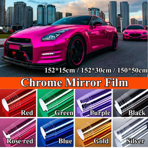 Car-styling Matte Chrome Ice Vinyl Film /Chrome Mirror Vinyl Wrap Film /