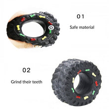 Load image into Gallery viewer, Cute Pet Dog Teeth Molar Toys For Small Large Dogs Tyre Tough Playing Training Puppy Cat Animals Pet Supplies