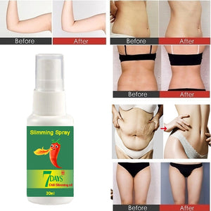 New natural Chinese herbal plant weight loss spray, fast weight loss, suitable for the whole body, unisex(10/15/20/30ml)
