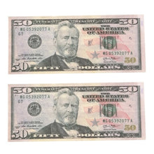 Load image into Gallery viewer, PROPS ONLY-100 Dollar prop reproduction Copy Prop Cash Bills Practice Training Paper for Movie, TV, Videos, Advertising & Show off (100) Pretend Money