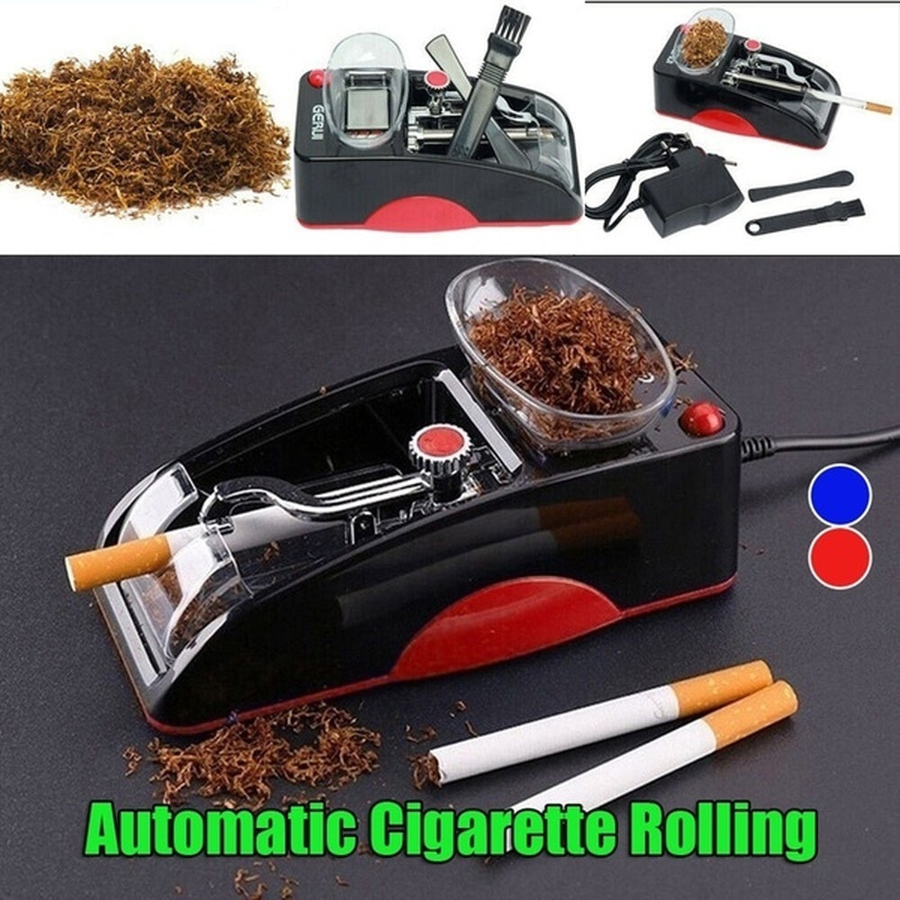 Electric Automatic Cigarette Rolling Machine Tobacco Maker Roller Tobacco Pipe Men