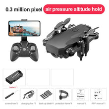 Load image into Gallery viewer, 2020 Folding Mini Drone with RC Quadcopter with HD Quad-Counter Camera with High Control RC Helicopter with Headless