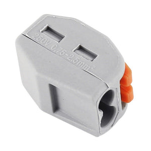60Pcs/Set New Home Wire Connector ReusablePole Cable Clamp  2/3/5 Terminal Block Lever