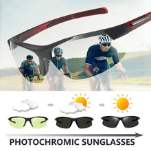 Load image into Gallery viewer, Outdoor Sunglasses Motorcycle Sunglasses Bicycle Riding Glasses Sport Photochromic Sunglasses Men Women Polarized Goggle Driving Glasses