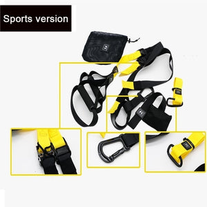 Adult Gym Suspension Resistance Belt Indoor Yoga Training Elastic Pull Rope Multi-functional Muscle Trainer Fitness Equipment
