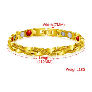 Health Care Weight Loss Magnetic Therapy Elemental Bracelet Health Care Bracelet Male Gift Adjustable