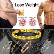 Load image into Gallery viewer, Health Care Weight Loss Magnetic Therapy Elemental Bracelet Health Care Bracelet Male Gift Adjustable