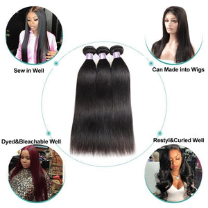 16/18/20/22/24/26/28/30/32 Inch Hair Bundles Brazilian NEW Arrival Straight & Body Wave Hair Extensions Brazilian Virgin Hair Weave