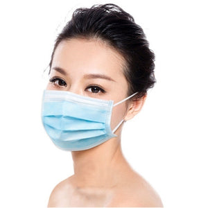 1pcs Face Masks Disposable 3 Layers Dustproof Mask Facial Protective Cover Masks Set Anti-Dust