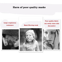 将图片加载到图库查看器,1pcs Face Masks Disposable 3 Layers Dustproof Mask Facial Protective Cover Masks Set Anti-Dust