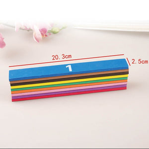 51pcs Magnetic Rainbow Fraction Tiles Early Educational Math Toys Kids Learning Educational Toys