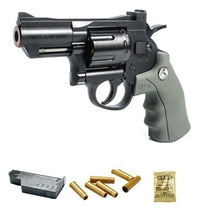 Load image into Gallery viewer, Crosman SNR357 ZP-5 CO2 double ammunition plastic metal revolver air gun simulation pistol sniper gun toy gun model