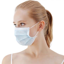 Load image into Gallery viewer, 20/50Pcs Disposable 3-Layer Masks, Anti Dust Breathable Disposable Earloop Mouth Surgical Face Mask Medical mask