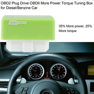 2020 NEW Full Chips OBD2 Car Chip Tuning Box Plug & Drive OBD2 Engine Save Fuel Upgrade Economizer Nitro OBD2 Chip H20