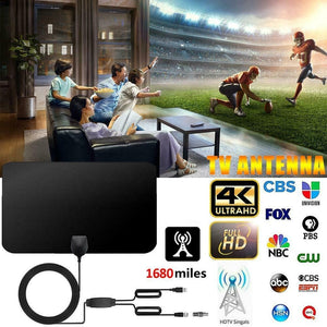 New Update Hot Digital TV Antenna Signal Booster Amplifier HD TV Indoor Antenna (2Types)