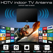 Load image into Gallery viewer, New Update Hot Digital TV Antenna Signal Booster Amplifier HD TV Indoor Antenna (2Types)
