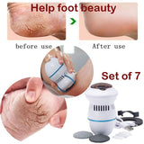 For Men And Women Foot Care Electric Reamer Skin Grinding Hard Skin Trimmer Dead Skin Pedicure Foot Care Tool Callus Removes Heel Calluses