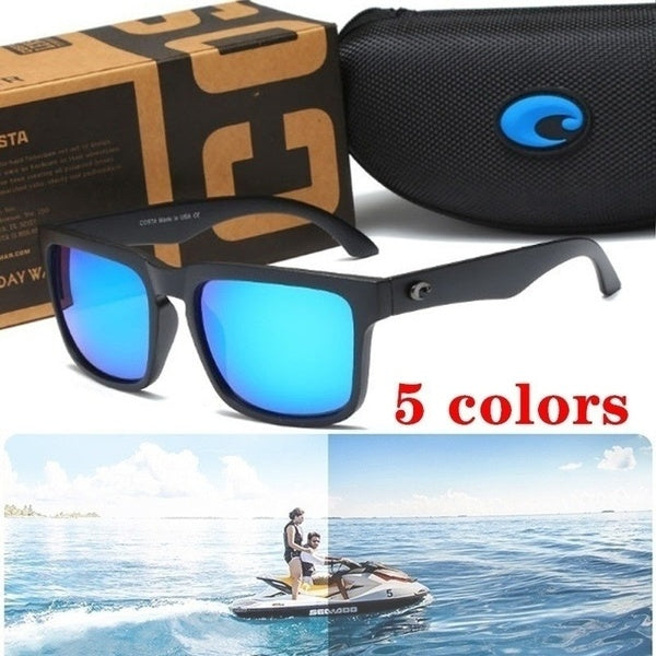 New Unisex Stylish Sports UV400 Protective Sunglasses. Costa Rican Fashion Polarized Beach Sunglasses.