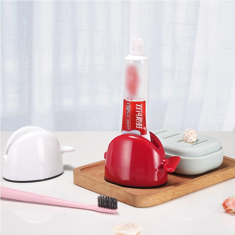 Manual Roller Tube Toothpaste Squeezer Cosmetic Dispenser Facial Cleanser Holder Bathroom Accessories Refuse Waste Tools