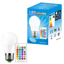 Load image into Gallery viewer, RGB Bulb Led Light B22 E27 16 Colour Changing Remote Control Lamp 5W/ 7W/10W
