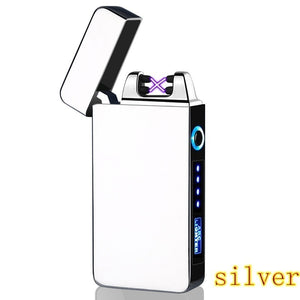 Mini USB Rechargeable Windproof Lighter LED