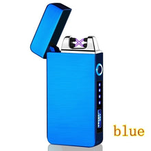Load image into Gallery viewer, Mini USB Rechargeable Windproof Lighter LED