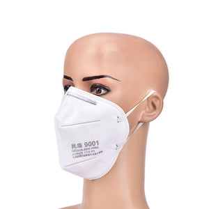 10pcs Filter 95% KN95 Face Mask Dust Proof Respirator Protection Mask