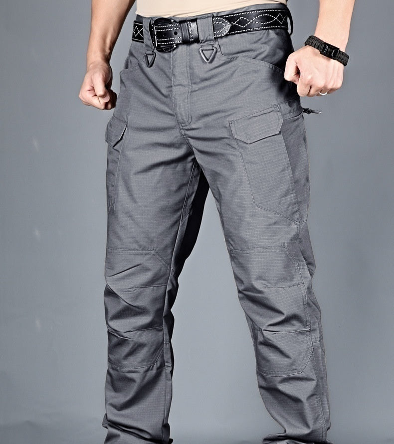 7 Colors New Mens Outdoor Sports Trekking Pants Tactical Military Sweatpants Fihgting Multi-pocket Pants Men Fashion Pants