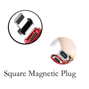 1/2/3Pcs Magnetic Micro USB Type C Apple Cable Plug