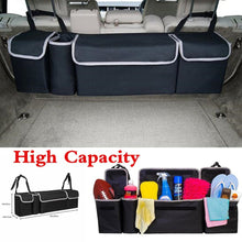 Load image into Gallery viewer, 3 Types Black Car Back Seat Organizer Black Large Capacity Multi-use Car Seat Back Organizers Bag