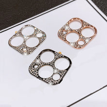 Load image into Gallery viewer, Camera Lens Film For iPhone 11 Pro Protector Bling Glitter Metal Diamond For iPhone 11 Pro MAX