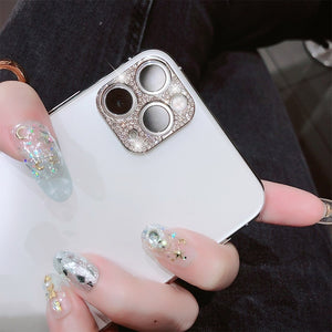 Camera Lens Film For iPhone 11 Pro Protector Bling Glitter Metal Diamond For iPhone 11 Pro MAX