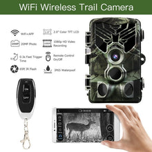 Load image into Gallery viewer, 2020 NEWEST 20MP Wireless Wifi APP Hunting Camera Night Vision 1080P APP Remote Waterproof