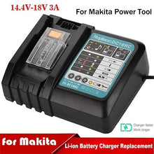 Load image into Gallery viewer, 2020 New for Makita Power Tool 3A Li-Ion Fast Battery Charger BL1830/BL1840/BL1850/BL1815