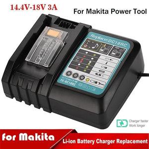 2020 New for Makita Power Tool 3A Li-Ion Fast Battery Charger BL1830/BL1840/BL1850/BL1815
