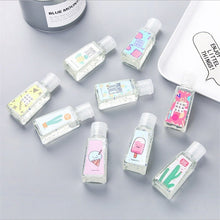 Load image into Gallery viewer, 1/2PC Disposable Travel Portable Mini 30ML Hand Sanitizer Style Send At Random