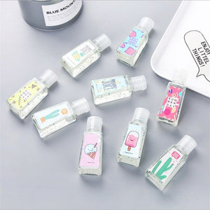 1/2PC Disposable Travel Portable Mini 30ML Hand Sanitizer Style Send At Random
