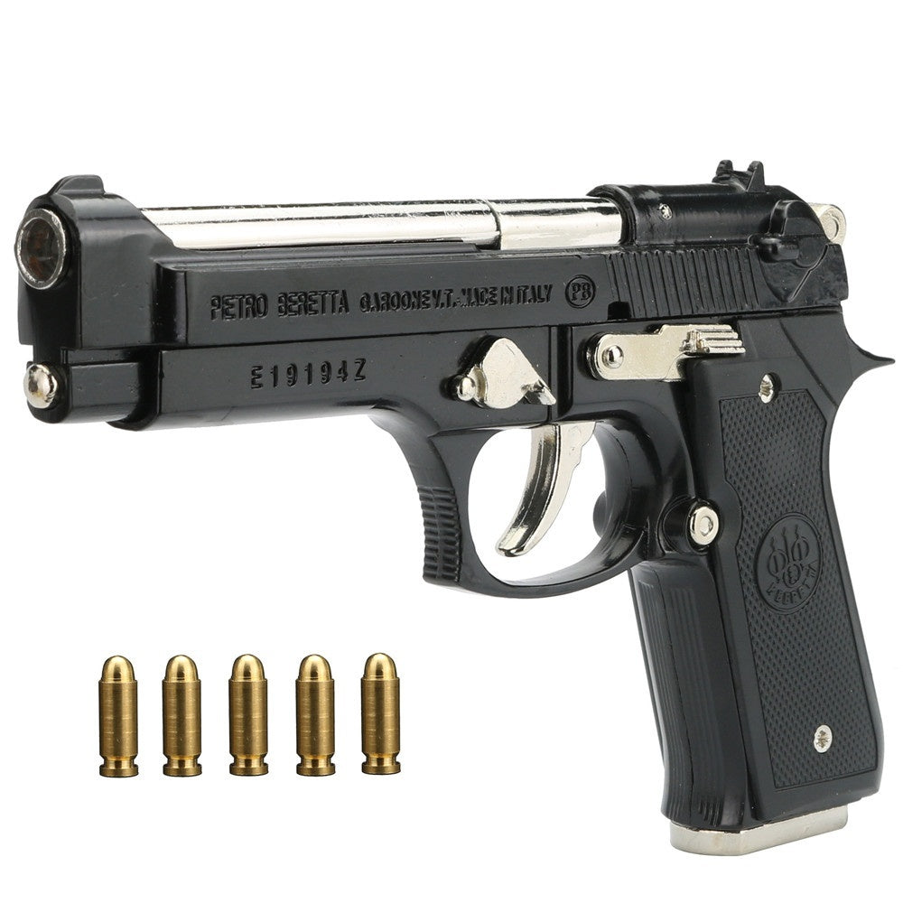 Pistol model metal pistol collection hobby best gifts and handicraft ornaments can not be launched gifts for boys