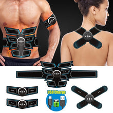 Load image into Gallery viewer, A-TION Professional EMS Muscle Trainer, 8 Pads Abdominal Muscle Training Gear Body Shaping Equipment for Men & Women (6 Types Optional)