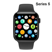 将图片加载到图库查看器,2020 New Series 5 Fashion Smart Watch(GPS,40mm) Alloy Metal Shell Smartwatch Bluetooth Call Touch Screen Smartwatch Intelligent Fitness Tracker Heart Rate Monitor For Smartphones PK Apple Watch Series 5 4 3