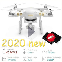 Load image into Gallery viewer, 2020 Future New Upgrade Clone DJI Drone!!! Phantom 4 Pro!! HD Camera RC Drone Wifi FPV HD Adjustable Camera Altitude Hold One Key Return/Take Off RC Quadcopter Drones