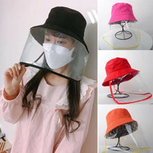 Load image into Gallery viewer, New ladies men's protective hat sun hat dustproof waterproof removable protector