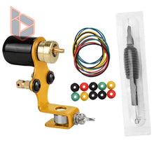 Load image into Gallery viewer, 2020 Newest!!! Complete Tattoo Kit Rotary Tattoo Machine Cartridge Grip Grommets Nipples Professional Tattoo Machine Supply Kit for Body Art Beginners, Learners, Tattoo Artists
