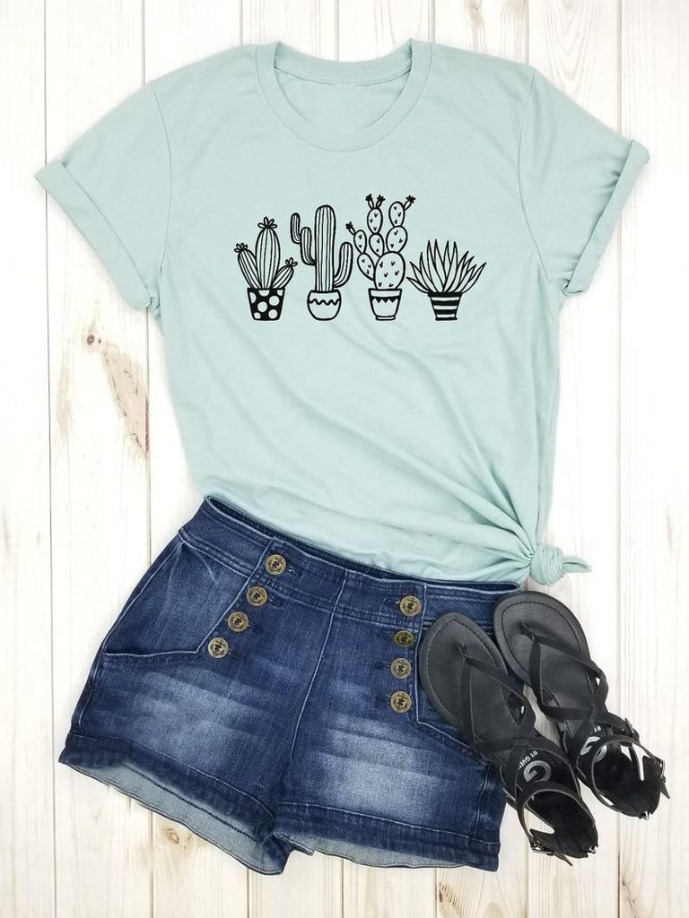 actus Plants - Funny Cactus Shirt, Cant Touch This, Cute Cactus Shirt, Crazy Plant Lady, Not a Hugger, Cactus Tee, Succulent shirt