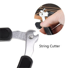 Load image into Gallery viewer, 3 in 1 Multifunction Guitar Picker Peg Strings Winder + String Pin Puller+ String Cutter Guitar Accessories