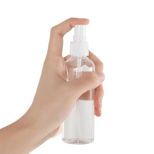 5pcs Disinfectant Spray Bottle 30ml 50ml 100ml Refillable Mini Perfume Spray Bottle Empty Cosmetic Containers