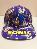 Sonic The Hedgehog Cartoon Youth Adjustable Baseball Hat Cap For Boys
